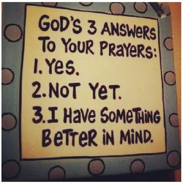 God's 3 Answers